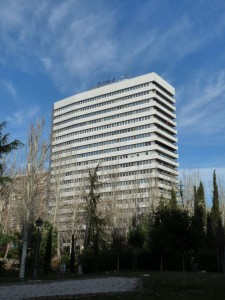 Edificio Eurocentro, sede central de Arriaga Asociados en Madrid FUENTE commons.wikimedia.org