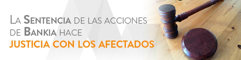 Sentencia de las acciones de Bankia
