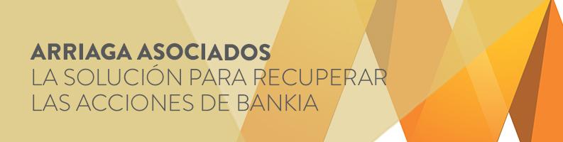Recuperar las acciones de Bankia