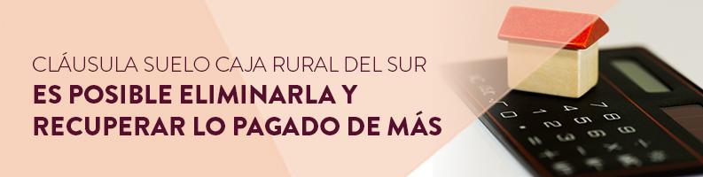 Cláusula suelo Caja Rural del Sur