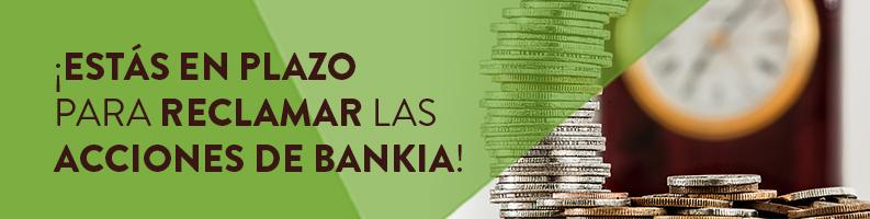 Cómo reclamar Acciones Bankia