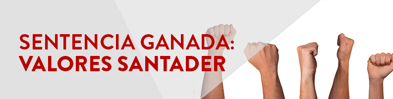 Sentencia ganada Valores Santander
