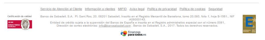 cláusula suelo Banco Sabadell