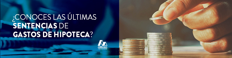 sentencia gastos formalización hipoteca