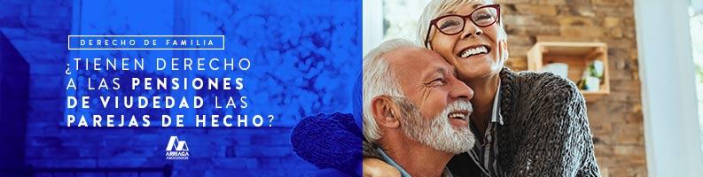 pareja de hecho derechos pension de viudedad