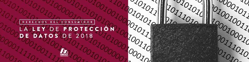 nueva ley de proteccion de datos 2018